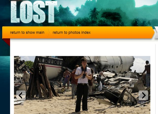 Lost TV Series Photo